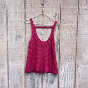 NWT {American Eagle} Sweater Tank! Size Small